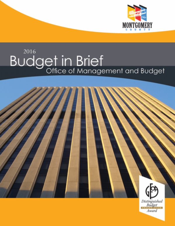 Budget in Brief Page